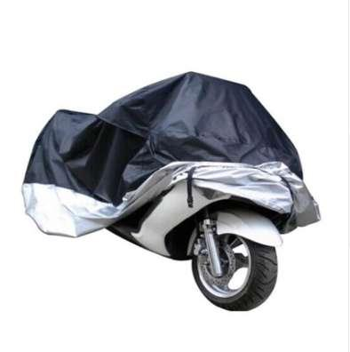 Motorcycle Waterproof Outdoor Motorbike Rain Vented Cover Extra Large Silver stormproof waterproof anti-dust Dropshipping Sept5