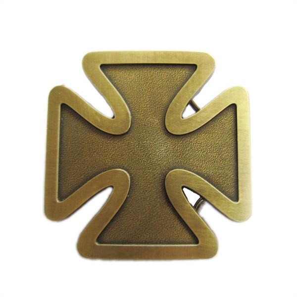 Amigo de Jean Novo Vintage Bronze Banhado A Cruz Fivela de Cinto Gurtelschnalle Boucle de ceinture