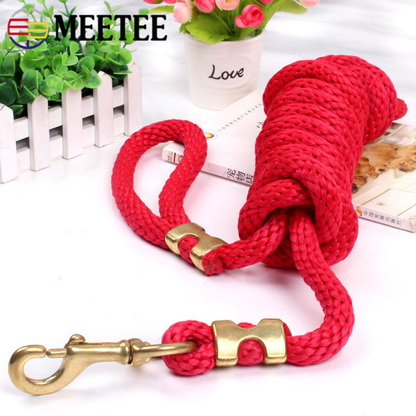 High Quality New Dog Super Large Copper Hook Rope Dog Chain Hemp Fashion Pet Products Wholesale