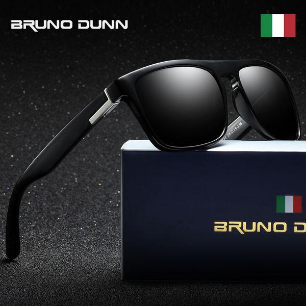 11ad5d0d16688 Bruno Dunn DESIGNER de MARCA Clássico Polarizada Óculos De Sol Das Mulheres  Dos Homens de Condução
