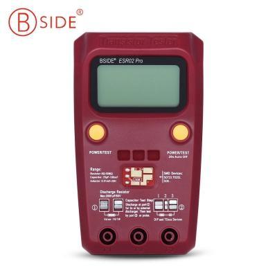 BSIDE Pro Digital Transistor Tester Diode Capacitance Resistance Chip Component Inductance Meter test plug-in SMD device