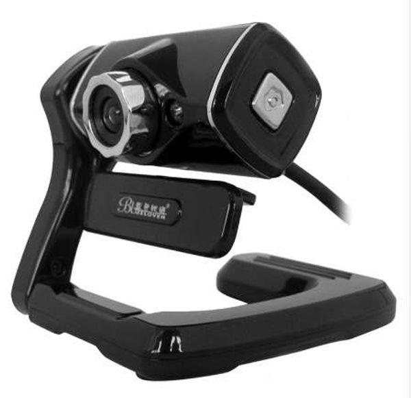 Free Drive Portable Mini USB HD Webcam Web Cam Camera Build-in Microphone For Computer PC Laptop Desktop Facetime With Clip