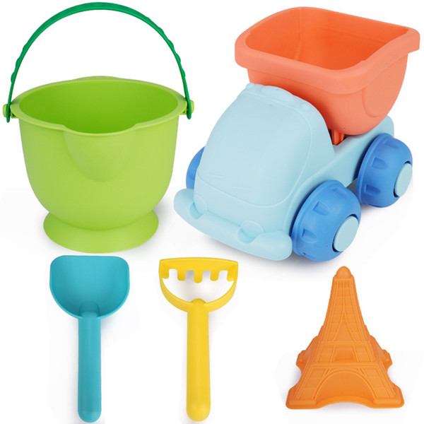 5 Pieces Sand Digging Toy For Kid Water Toys Baby Sandy Beach Pretend Play Gift Set Resistance To Fall 12 32xs WW