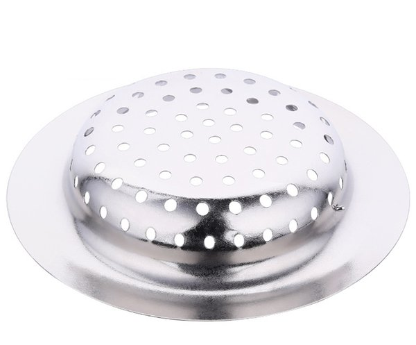 best selling 2018 Bathroom Kitchen Sinks home Sewer Outfall Strainer stainless steel Drain Catches Cover Filter Kitchen Sinks