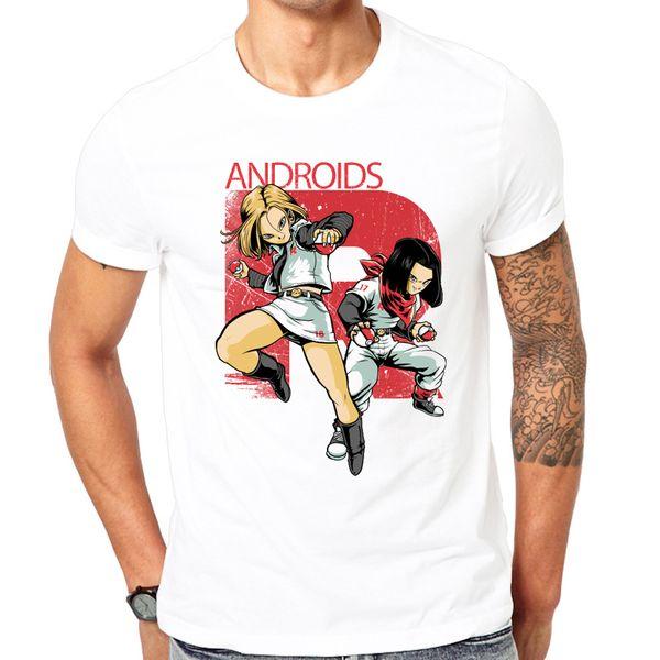 2018 Sıcak Tops Yeni Moda Baskılı Karikatür Karakterler Erkek T Shirt Yaz Kısa Kollu T-shirt Erkekler Beyaz T-Shirt Komik Tasarım