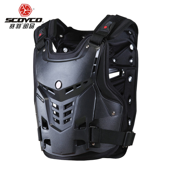 SCOYCO AM05 Motorcycle Armor Motorcycles Riding Body-Guard Protector Moto Motorbike Sports Armor Motocross Off-Road Racing Vest