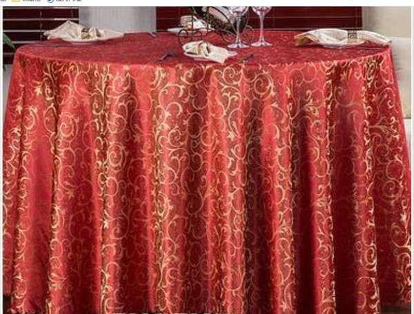 Europe Jacquard Table Cloth Table Cover Square Banquet Wedding Party Decoration Tables Satin Fabric Wedding Tablecloth Home Textile Rent Table Linens