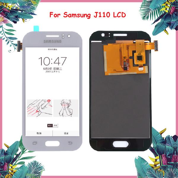 Pantalla LCD OLED de 4.3 '' para SAMSUNG Galaxy J1 As Pantalla J110 J110H J110F J110M Reemplazo del digitalizador de pantalla táctil LCD
