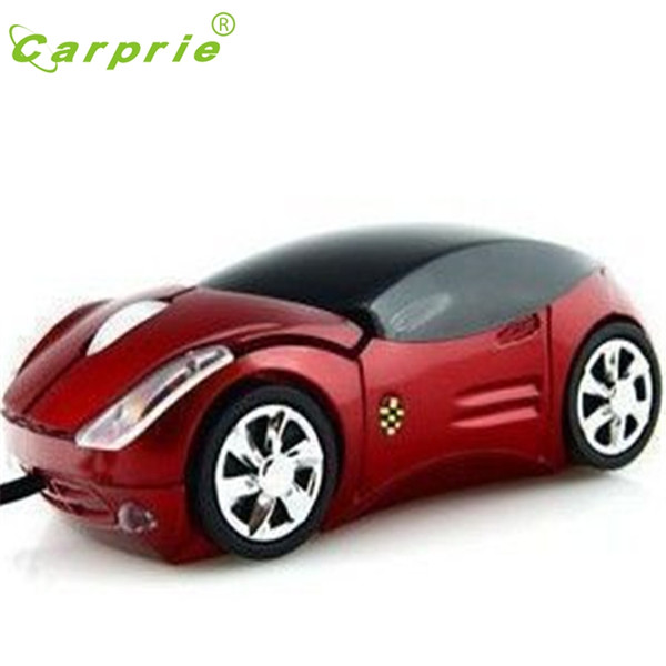 Atacado-Car Shape Mouse USB 3D Ergonômico Optical Mice Para PC / Laptop Novo Jan19 CARPRIE preço de fábrica