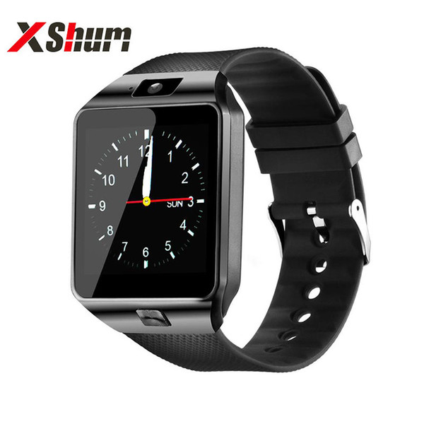 XShum Smartwatch DZ09 Mode d'appel Rappel 2G Electronics Hommes intelligent Regarder Sim Carte TF support compatible Android
