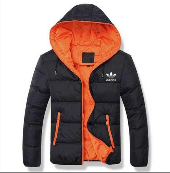 Moda Kış Aşağı Uzun erkek Sıcak Ceket Tasarımcısı Erkek Kapşonlu Coat Marka Ceketler Erkekler için Parkas Artı Yüksek Kalite AD01-09