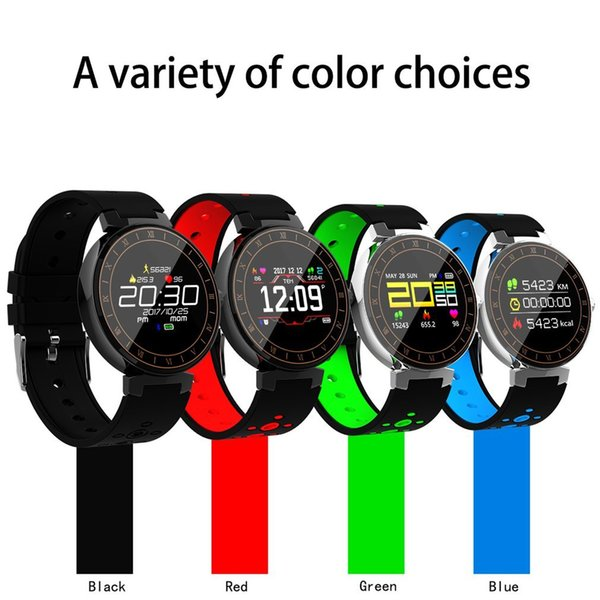 L8 Multi-sport Mode Smart Band Bluetooth Health Sleep Heart Rate Monitor Blood Pressure Fitness Tracker Smart Watch
