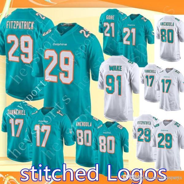 6c218a65 2018 Miami Dolphins 29 Minkah Fitzpatrick 17 Ryan Tannehill Jersey Mens 80  Danny Amendola 21 Frank Gore Football Jerseys Cheap Sales From Xmm_jerseys,  ...