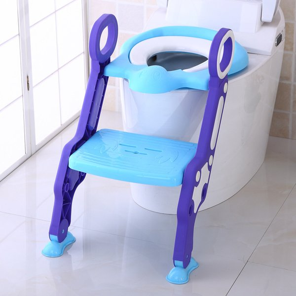 Outstanding 2019 Toilet Step Trainer Ladder For Kid And Baby Children Toilet Seat Chair Toddlers Toilet Training Step Stool For Girl And Boy From Wangfushuang Theyellowbook Wood Chair Design Ideas Theyellowbookinfo