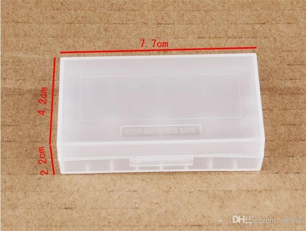 Transparent Battery Box Light Practical Packing Boxes Safety Holder Case Plastic Durable Storage Containers Easy Carry 0 5ym cc