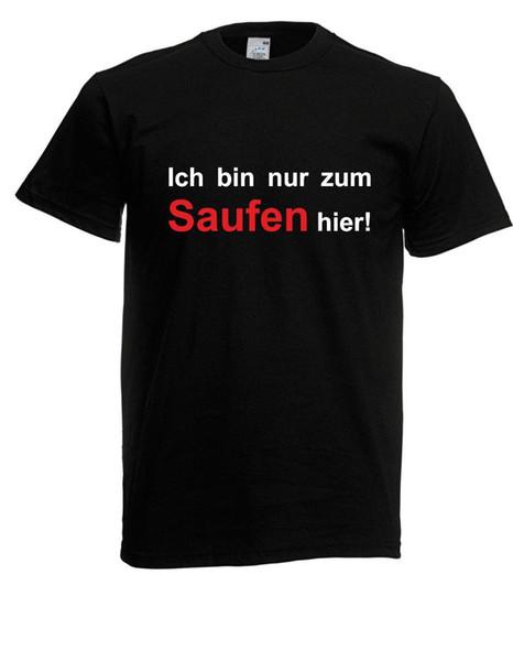 Compre Herren T Shirt Gmbh Ich Bin Nur Zum Saufen Hier I Sprüche I Fun I Bis 5xl A 1467 Del Zhangjingxin03 Dhgatecom