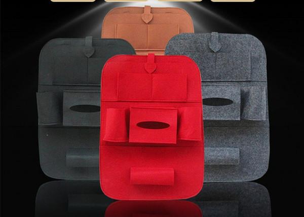 Yüksek Kalite Evrensel Oto Geri Araba Koltuğu Organizatör Tutucu Çok Cep Seyahat Depolama Sıcak Tutmak Çok Cep Asılı Çanta