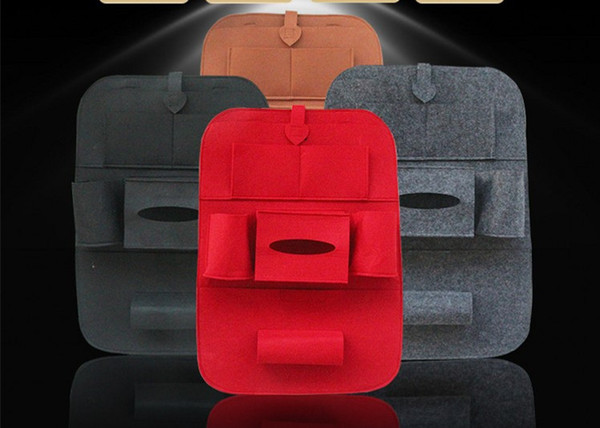 High Quality Universal Auto Back Car Seat Organizer Holder Multi-Pocket Travel Storage Keep Warm Multi-Pocket Hanging Bag