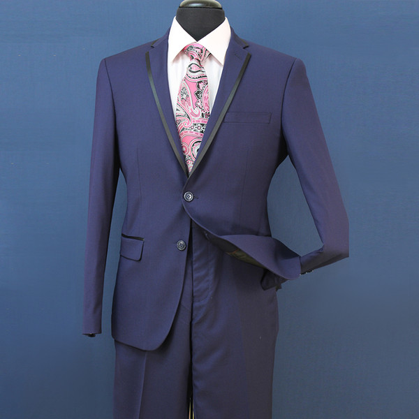 Slim Fit Groom Tuxedos Groomsmen Light Grey Side Vent Wedding Best Man Suit Men's Suits 3 Pieces (Jacket+Vest+Pants) ST008