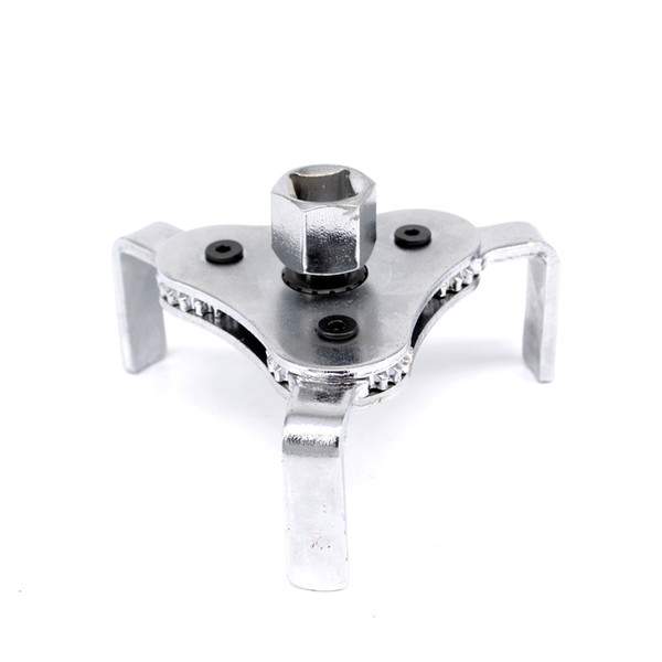 New l Auto Car Repair Tools Adjustable Two Way Oil Filter Wrench Tool with 3 Jaw Remover Tool for Cars Trucks 62-102mm
