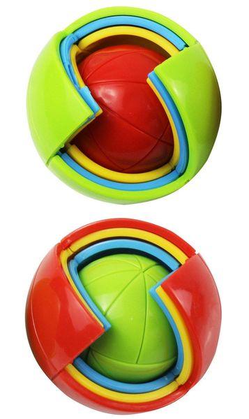 Wisdom Ball 3D Intelligence Magaic Ball Game Puzzle Ball Educational Toys for Kids IQ Training blocks toy smart maze DIY gift DHL 6pcs