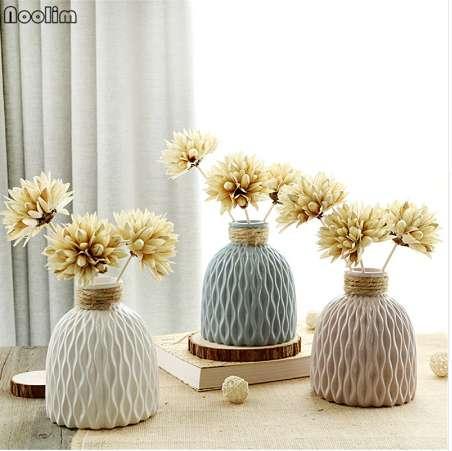 Acheter NOOLIM Japonais Vague D\'eau Modèle En Céramique Jardinière Pour  Hydroponique Fleur Décorative Fleurs Pot Mini Pot Maison Jardin Décor De ...
