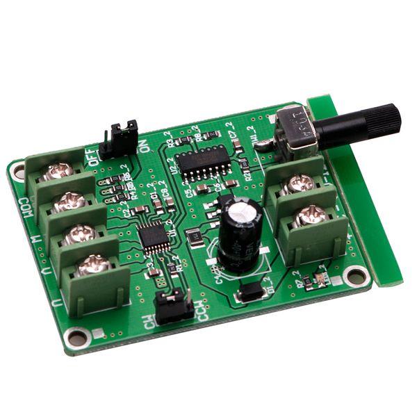 Новый 5 в-12 В постоянного тока бесщеточный драйвер платы контроллера для жесткого диска двигателя 3/4 провода-4XFC Drop Shipping