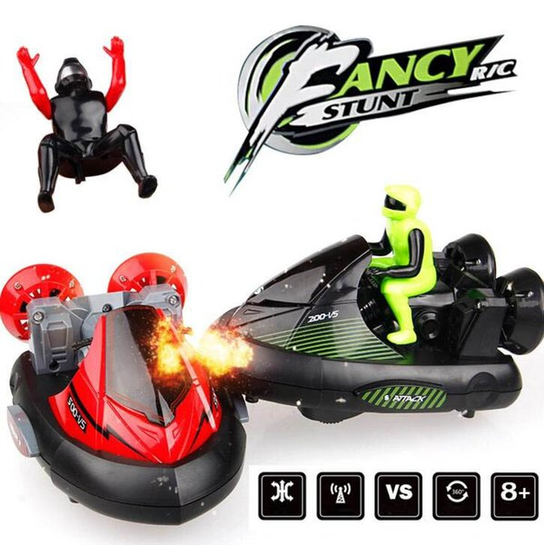 Kids Toy Car 2.4G remote control car rechargeable parent child interaction battle bumper car electric off road racing children toys