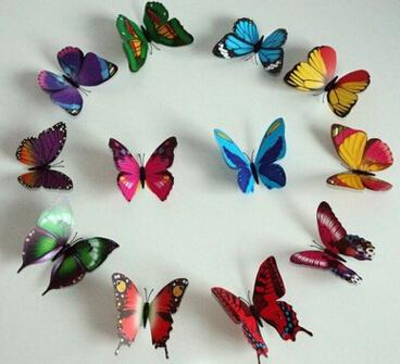 92 Styles Women Flower Brooches Christmas Brooch Pins 3D Butterfly Decorations Cloth Simulation Butterfly Pins Brooch Butterfly Pins