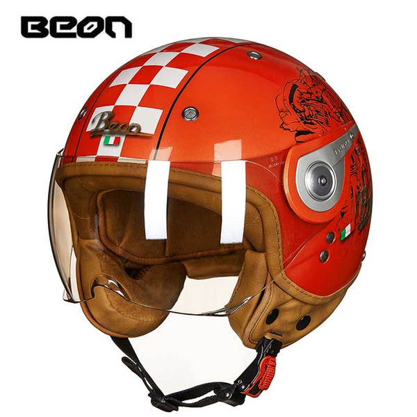 NEW RED BEON B110A motocross open face Helmet for men women, motorcycle MOTO motorbike electric bicycle scooter helmet M L XL