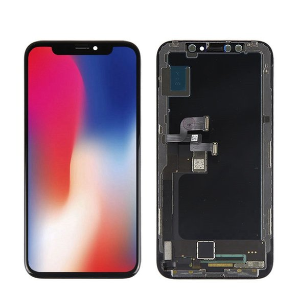 Chegada nova OEM Amoled OLED LCD Para iPhone X / 10 Qualidade Oficial Perfeito Cor Reconhecimento Facial + Frete Grátis DHL