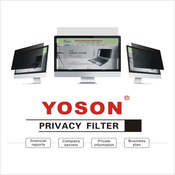 top popular YOSON 25 25.5 26 27 27.5 28 inch LCD monitor screen Privacy Filter anti peep film   anti reflection film   anti spy film 2019