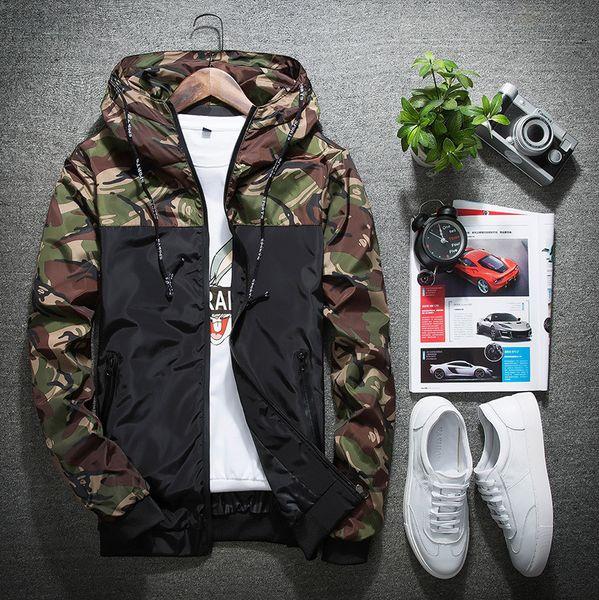 Windjacke Frauen Jacke Mode Männer Mit Kapuze Jacken Outdoor Tragen Sport Schlank Polyester Laufen Wandern Kleidung Größe M-5XL