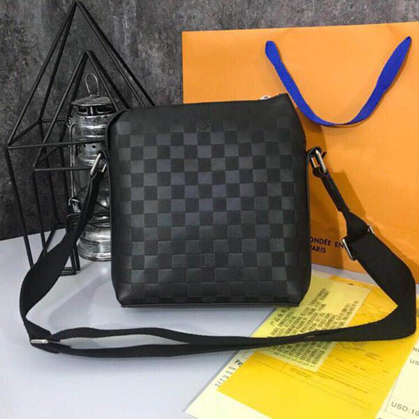 2018 New Fashion Brand Men Bag Briefcase Casual Business Genuine Leather Mens Messenger Bag Vintage Men's Crossbody Bag Bolsas Male Wallets