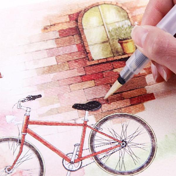 Compre Lápiz A Color Libro Acuarela Dibujos Para Colorear Cuaderno De Dibujo Para Diseñador De Arte Estudiante Dibujo Pintura útiles Escolares A 141