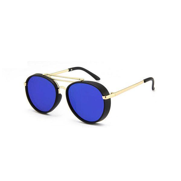 New Retro style cool Round Kids Sunglasses Boys Girls Sun Glasses Children Eyeglasses Brand Design Mirror Shades UV400 Wholesale