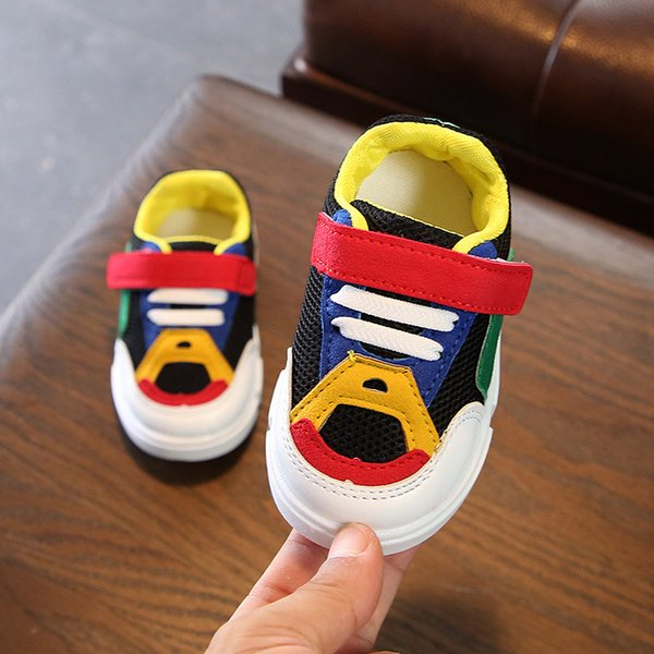 New European high quality baby girls boys sneakers hot sales running children shoes Baby toddler shoes Best-selling product Non-slip