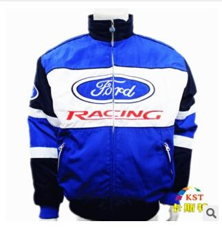 Ford 2019 nouvelle veste en coton de broderie Moto Car Racing Team Jacket