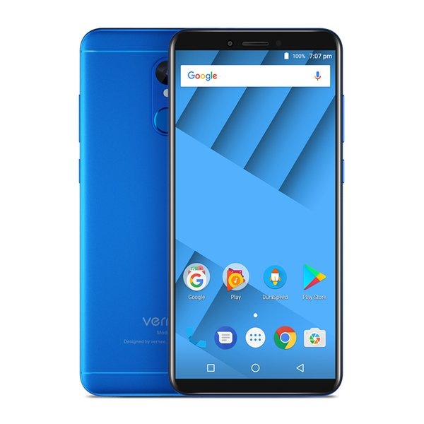 """Vernee M6 4GB 64GB Mobile Phone 5.7"""" HD 18:9 Full Screen 16MP Cameras 4G LTE 3300mAh Android 7.0 Fingerprint Dual SIM Smartphone"""