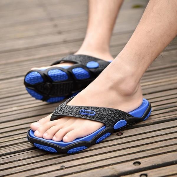 good out x first look uk store Compre Chanclas Hombre Sandalias Zapatos Para Caminar Casual Diapositivas  De La Playa EVA Zapatillas De Masaje Diseñador Pisos Hombre Verano Hombres  ...