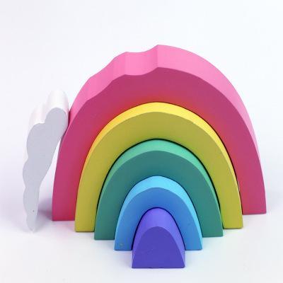 rainbow 22*16*2.5cm