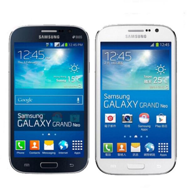 Original Refurbished Samsung GALAXY Grand Neo Plus I9060I GSM 3G Unlocked Cellphone 1G/8G Quad Core GPS WIFI Bluetooth Camera Cell Phones