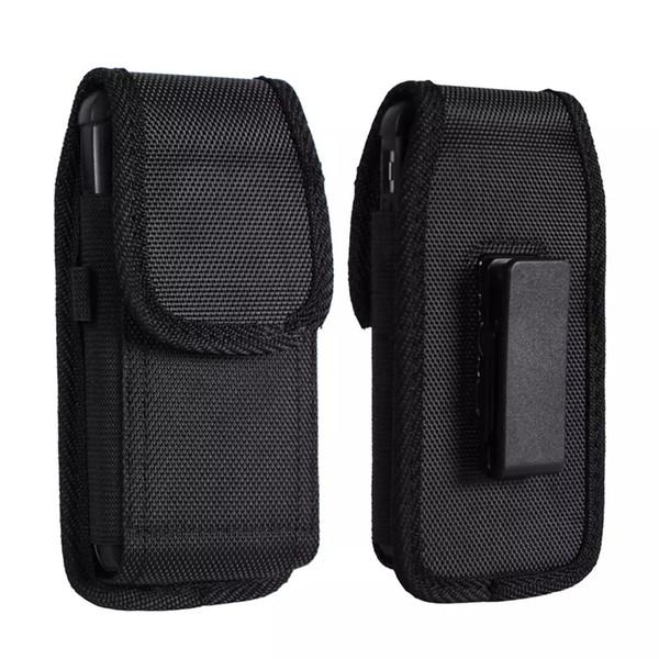 Универсальный спортивный нейлоновый кожаный зажим для ремня кобуры чехол для телефона чехол для Iphone X XR XS MAX 6 7 8 Plus Samsung Huawei