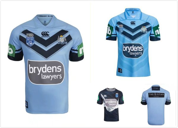 Top chaud 2018 2019New Zealand club NRL National Rugby League Nsw origines maillot de Rugby NSWRL Holton Jerseys shirt Taille S-3xL