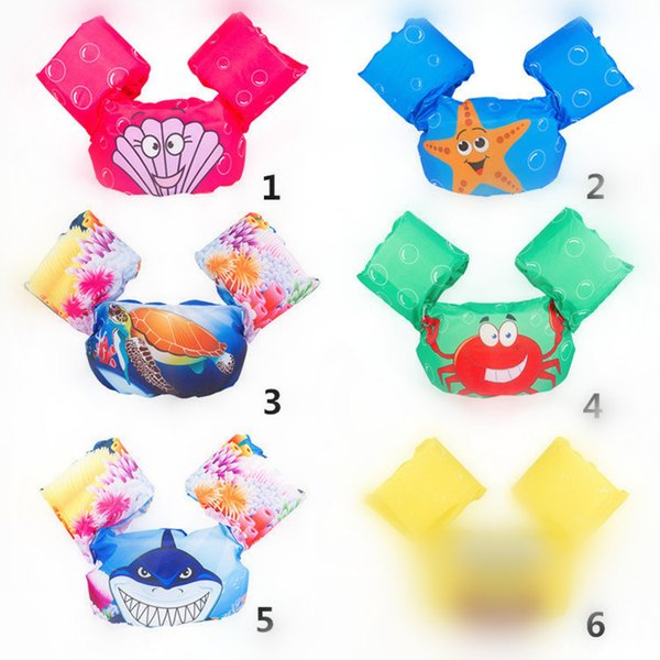 Infant Inflatable Swim Ring Baby swim neck Float Laps Baby Swimming Learning Ring Swimming pool accessories T1I283