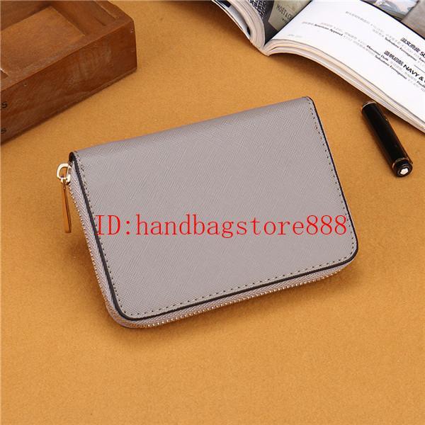 Hot 7 Farben Dame kleine Brieftaschen Mode Frauen Casual Wallet berühmten einzigen Reißverschluss Damen Brieftaschen weiblichen PU-Leder Geldbörse