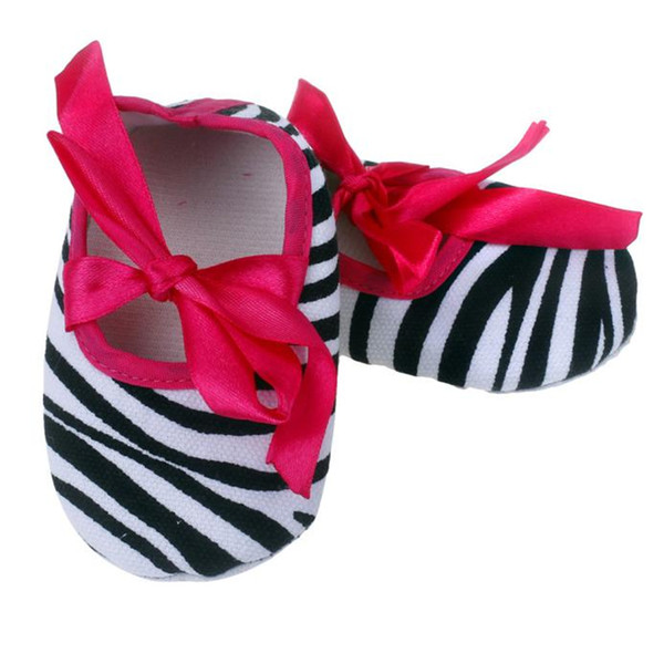 LONSANT Kids Shoes !@@! Bowknot Stripe Printing Newborn Cloth Shoes Baby cute lovely dropshipping wholesale hot sale 2018