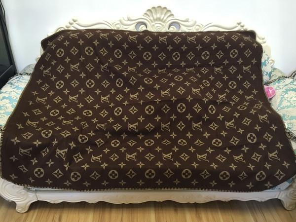 Luxury cla ic wool blanket home outdoor carf hawl warm everyday blanket large 170 140cm fa hion chri tma family gift