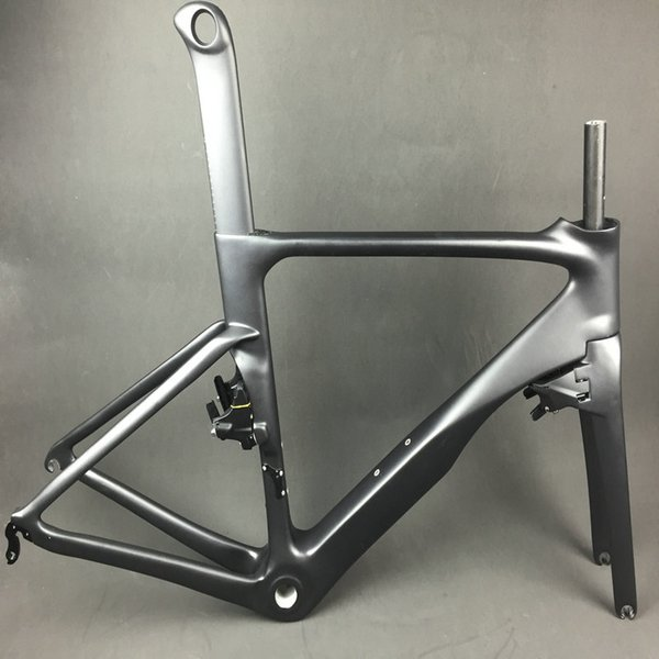 unpaint logo bike carbon frameset T1000 UD glossy bicycle carbon frameset+bar+stem+frok+headset made in china free shipping