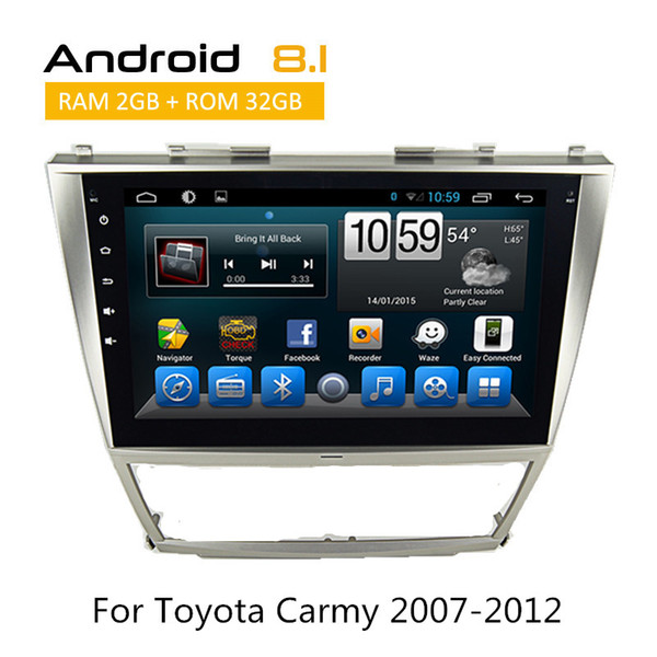 10 inch Touch Screen Car Radio for Toyota Camry 2008 with CAR DVD GPS TV RSD OBD Bluetooth Android Quad Core
